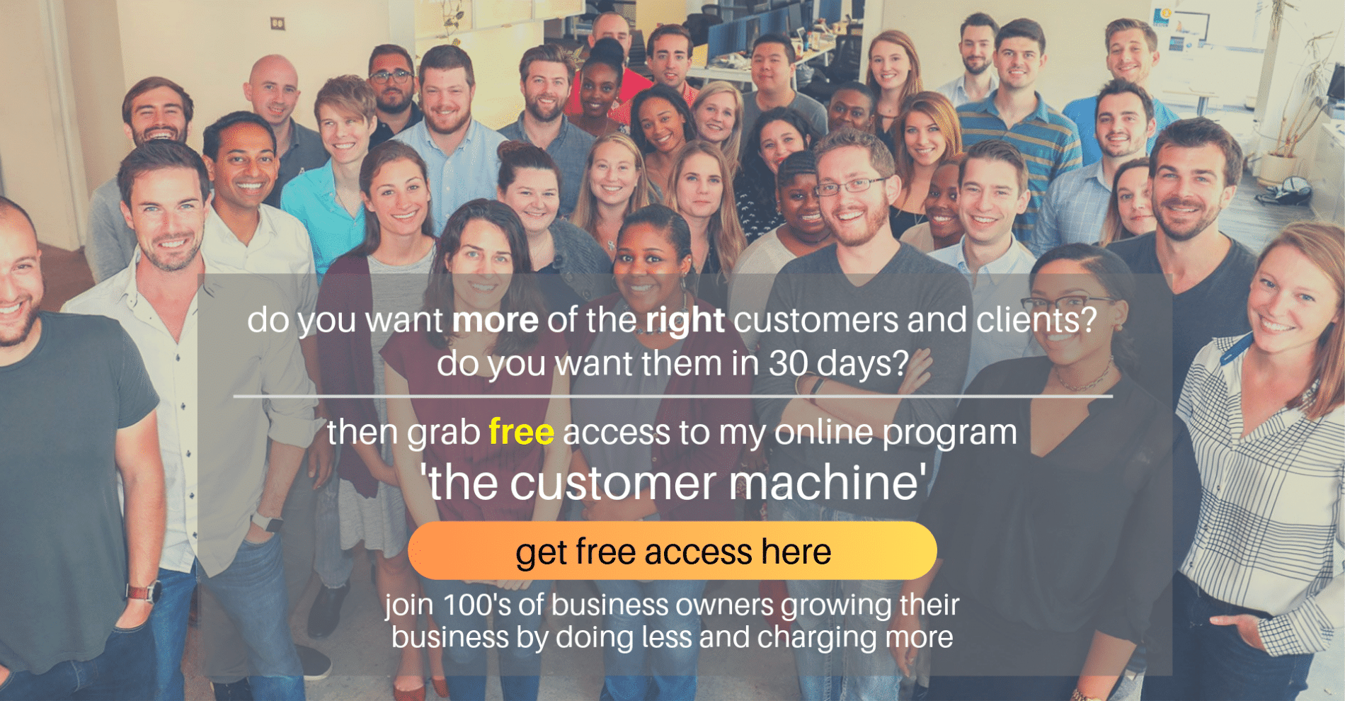 Marc Ford business coach customer machine online program business coaching Leicester