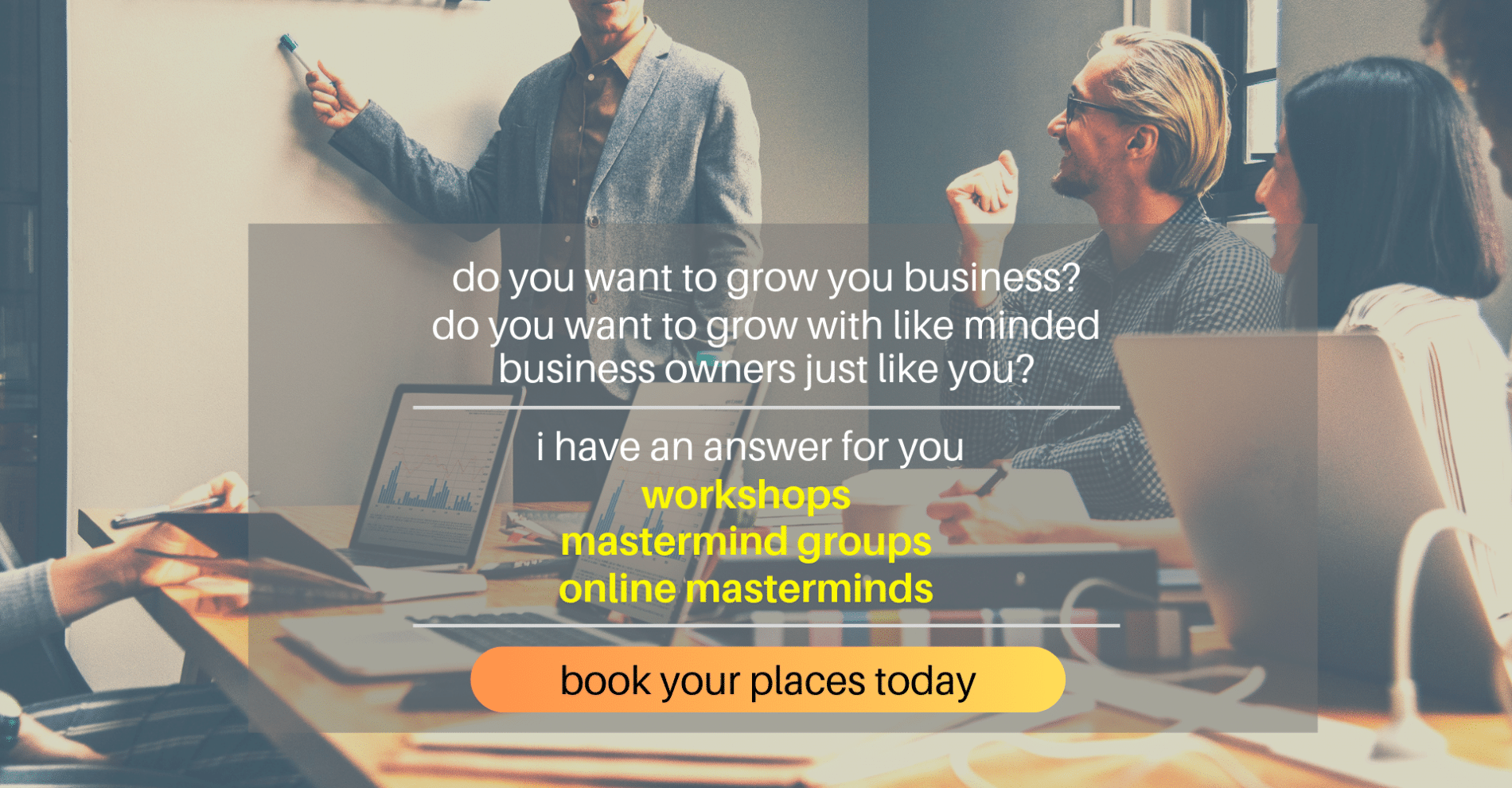 Marc Ford business coach small business events and mastermind groups business coaching Leicester