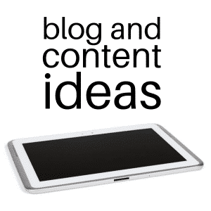 blog and content ideas online short course, Marc Ford business coach Leicester