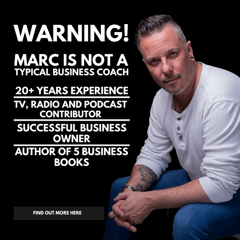 Marc Ford business coach leicester Oadby Leicestershire East Midlands