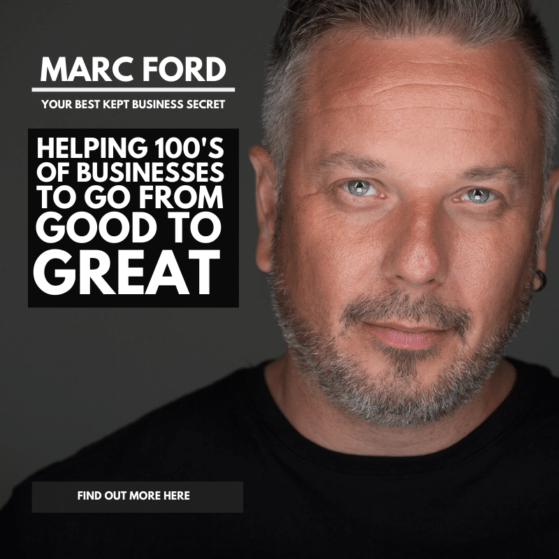 Marc Ford business coaching Oadby, leicester, Leicestershire