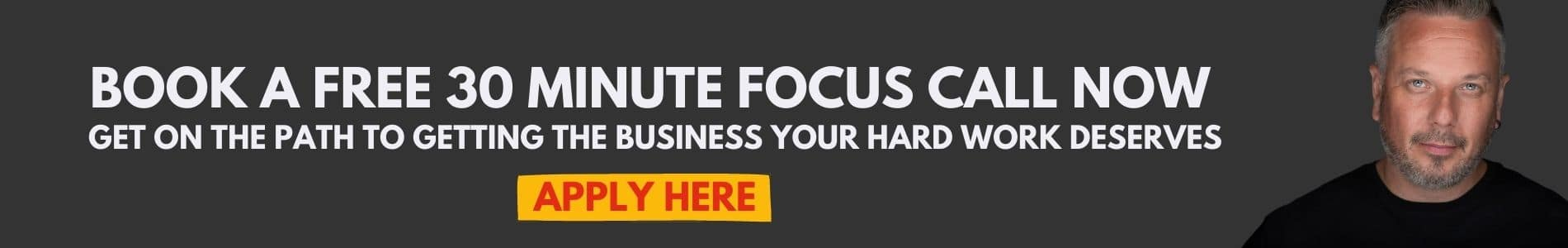 book a free 30 minute session with Marc Ford business coach in leicester