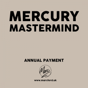 The Mercury Mastermind Group for business owners with Marc Ford MBA in Leicester