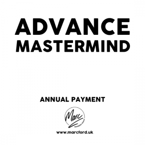 The Advance Mastermind Group for business owners with Marc Ford MBA in Leicester