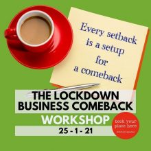 Find out how successful businesses are preparing to come back as the pandemic recedes and we can get back to business - for small businesses