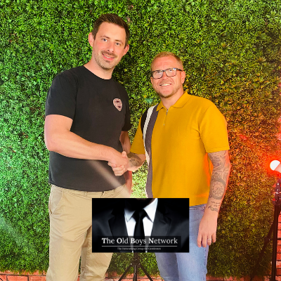 Chris, Social Media Expert and Darren, Business Protection Specialist at The Old Boys Network - Networking for Gentlemen in Business in Leicester