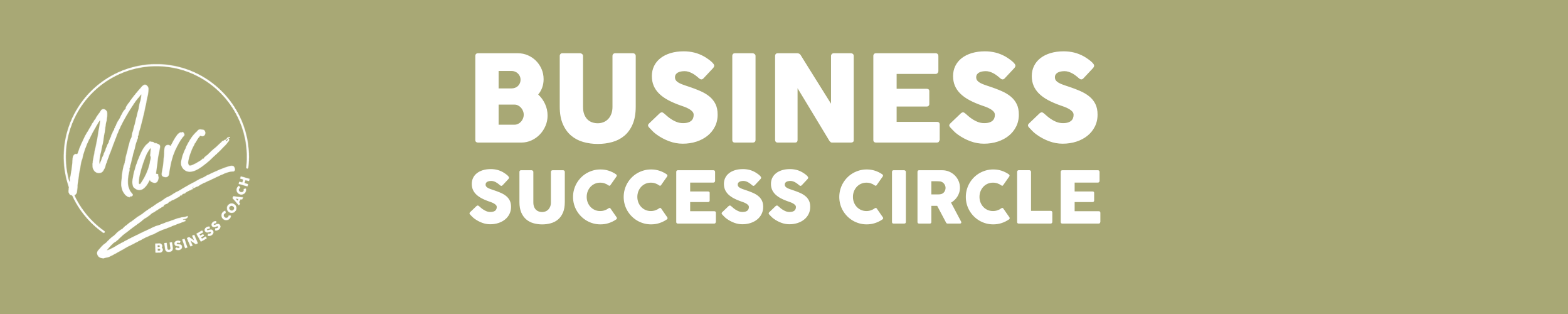 The Business Success Circle - A business network/workshop/collab group building businesses faster together with Marc Ford, Business Coach in Leicestershire